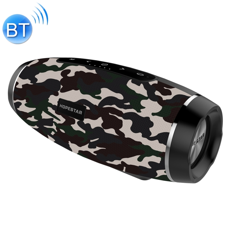 HOPESTAR H27 Mini Portable Rabbit Wireless Bluetooth Speaker, Built-in Mic, Support AUX / Hand Free Call / FM / TF (Army Green)