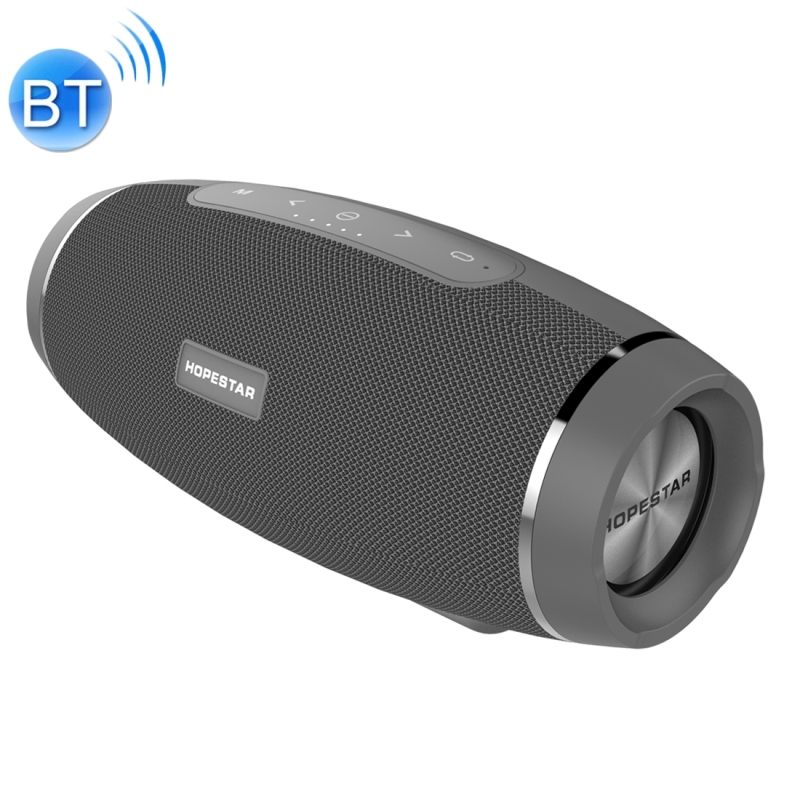 HOPESTAR H27 Mini Portable Rabbit Wireless Bluetooth Speaker, Built-in Mic, Support AUX / Hand Free Call / FM / TF (Grey)