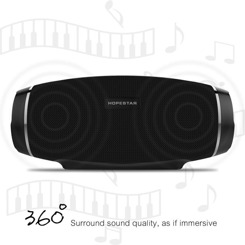 HOPESTAR H27 Mini Portable Rabbit Wireless Bluetooth Speaker, Built-in Mic, Support AUX / Hand Free Call / FM / TF (Blue)