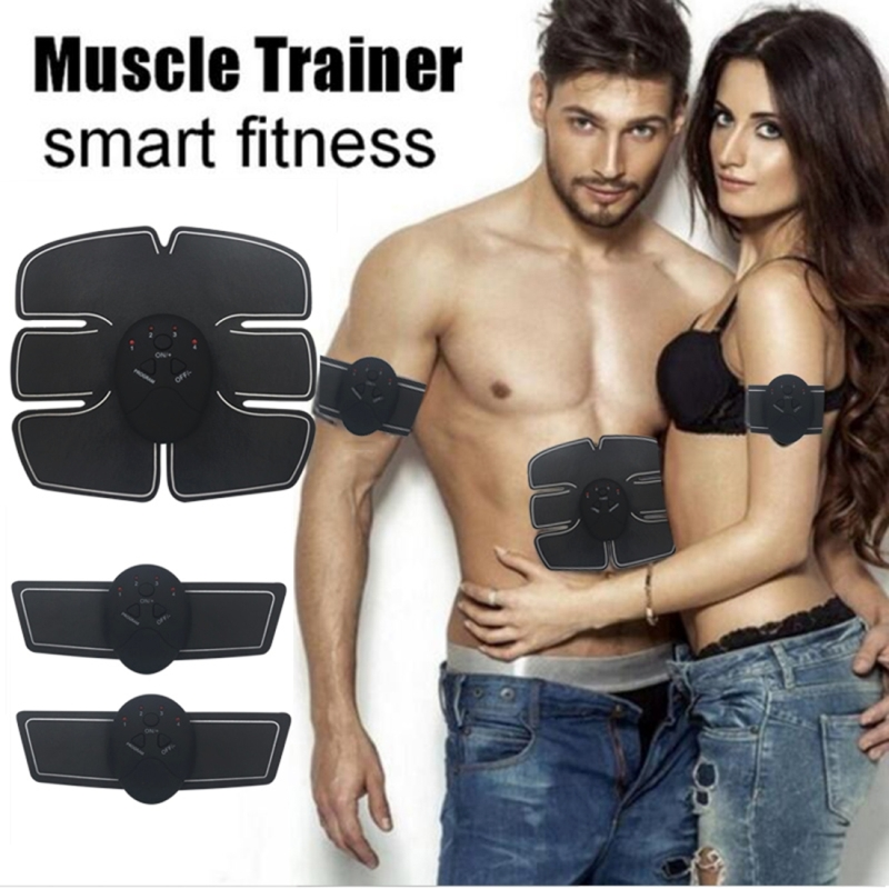 Intelligent Shaping System EMS Body Toning Elecrode Kit Muscle Stimulator Home Fitness Training Gear for Men Women