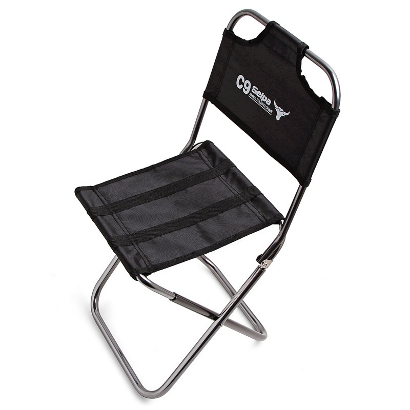 Outdoor Fishing Portable Folding Seat Stool Backpacking