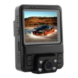 GS65H Car DVR Camera 2.4 inch LCD Screen HD 1080P 150 Degree Wide Angle Viewing, Support Motion Detection / TF Card / G-Sensor / HDMI (Black)