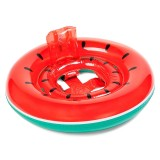 Kids Summer Water Fun Inflatable Watermelon Shaped Pool Ride-on Swimming Ring Floats