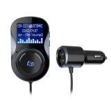 iMars BC30 Car 4.1+EDR Bluetooth MP3 Player Hands-Free Dual USB FM Transmitter Car Charger