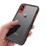 Bakeey Clear Transparent Anti Knock Hard PC Protective Case For iPhone X