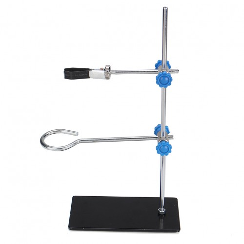 Retort Stands Support Clamp Flask Lab Stand Set Lab Bracket Laboratory Supports Shock 30cm High