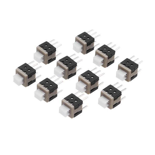 20Pcs Tact Touch Push Button Switch Momentary Tactile Surface Mount SMD Switch 6-Pin