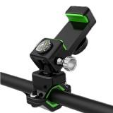 BIKIGHT LW-019 Guide Bike Phone Holder Multifunction LED Light Compass Bicycle Mobile Phone Bracket