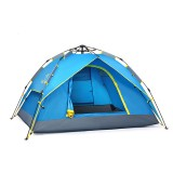 Trackman TM1111 3-4 People Automatic Tent Waterproof Double Layer Camping Sunshade Canopy