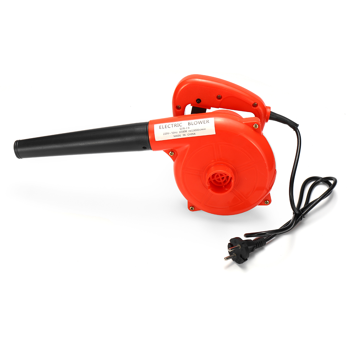 220V 1000W Suck Blow Dust Wiper Dust Settler Electric Hand Operated Air Blower Vacuum Cleaner