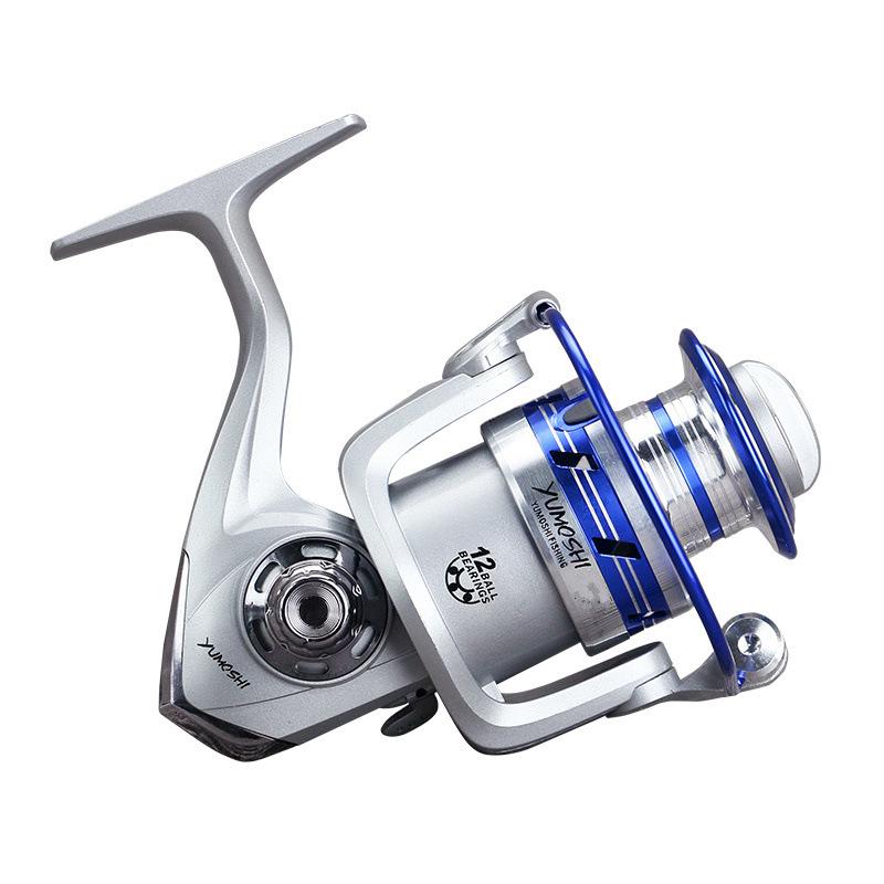 ZANLURE AL3000-6000 5.5:1 12+1BB Gapless Full Metal Spinning Reel Left/Right Hand Fishing Reel