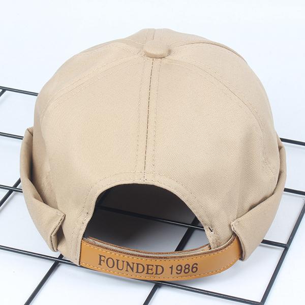 Mens Solid Cotton Leisure Newsboy Caps All-Match Painter Cop Hats  Adjustable Beanie Docker Cap 1d835e3dab1