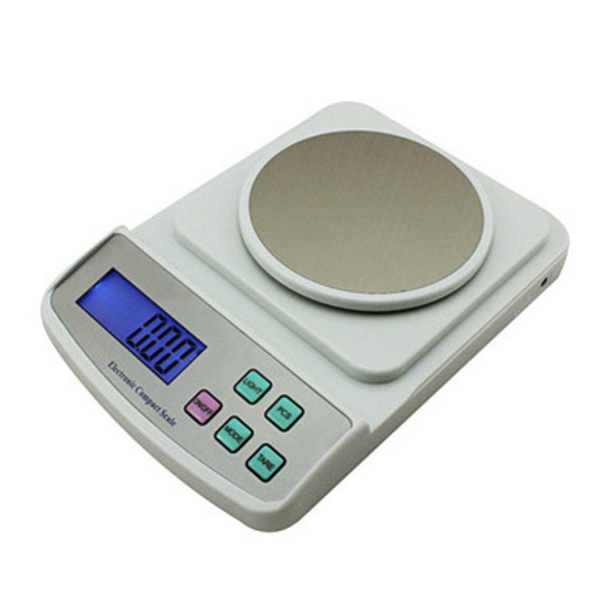 500g//0.01g US Electronic Jewelry Balance Scale High Precision Digital Display