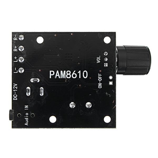 PAM8610 Dual Channel DC 12V 15W x 2 Class D HD Digital Audio Stereo High Power Amplifier Board