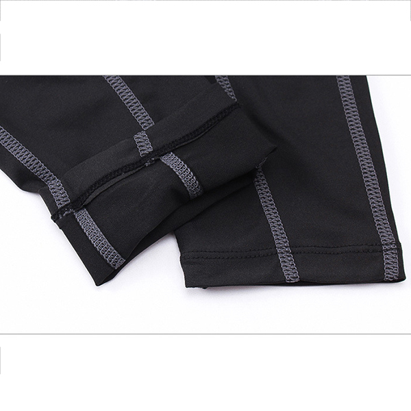 PRO Men's Sports Fitness Running Training Pants Breathable Speed Dry Elastic Tight Pants