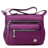 Women Nylon Multi-layer Mummy Bag Shoulder Bag Messenger Bag Crossbody Bag