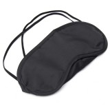 Sleeping Eye Patch Travel Office Eyeshade Cover Rest Aid Relax Mask Black