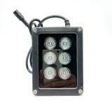 Mini CCTV IR Illuminator 850nm 6pcs Array Infrared LED Lamp Light IP67 Waterproof Night Vision
