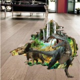 Miico 3D Creative PVC Wall Stickers Home Decor Mural Art Removable Dinosaur Decor Sticker