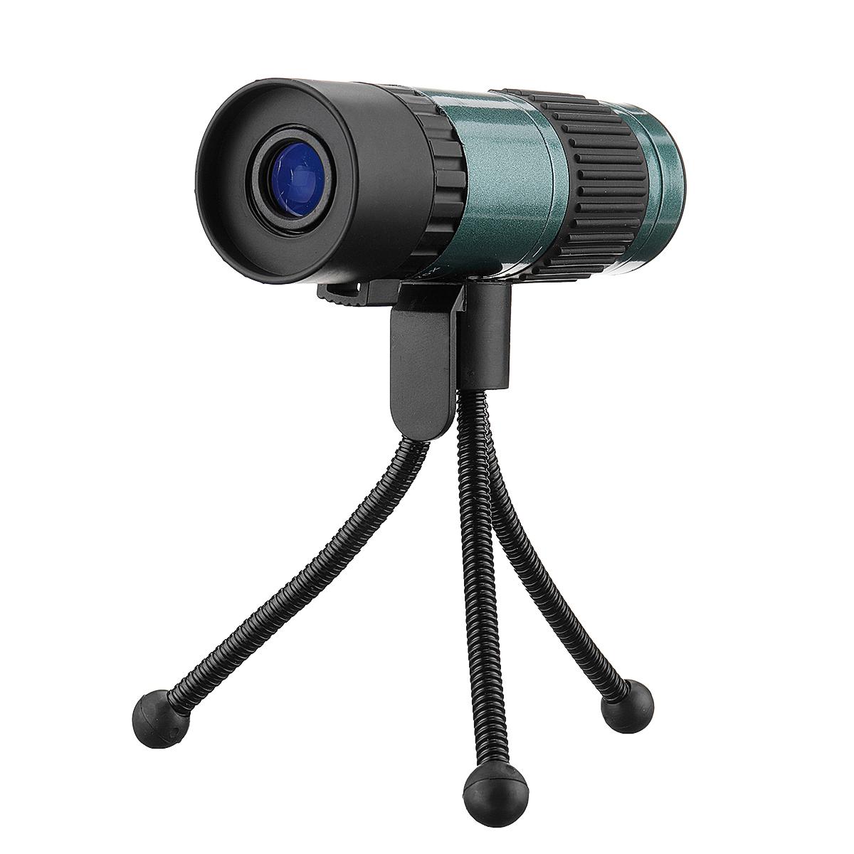 BOSHILE 15-75X25 Mini HD Vison Zoom Monocular Telescope With Tripod