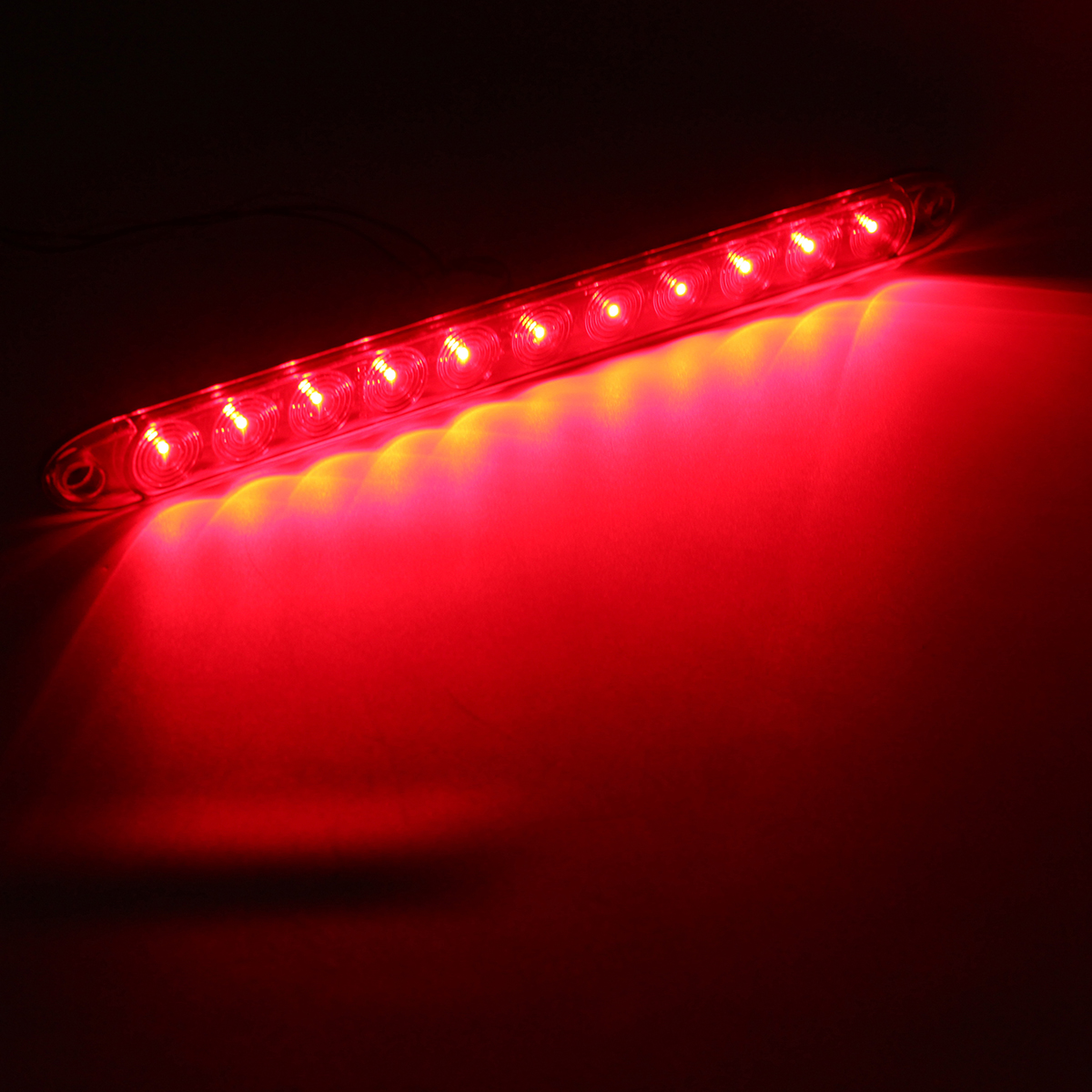 15inch Dc12v Red 4 Wires 11 Led Light Bar Stop Turn Tail 3rd Brake Wiring Third On Truck Cap Ce932596 Ef91 4b05 9795 C9aabd135e8e