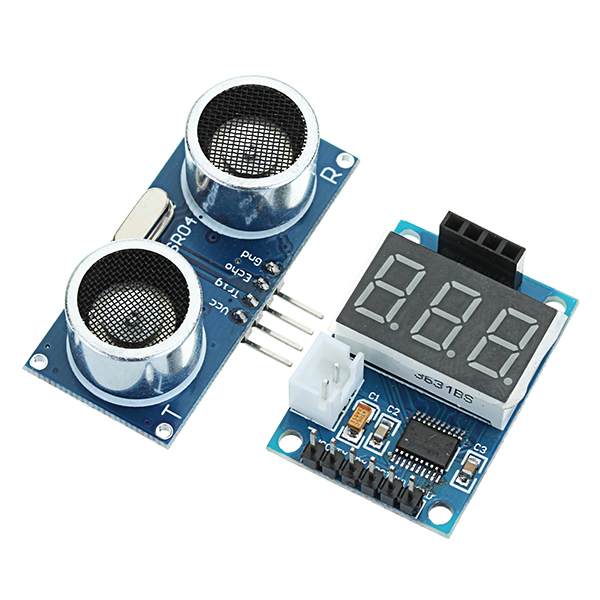 Ultrasonic Distance Measurement Control Board HC-SR04 Test Board