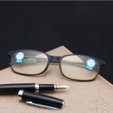 KCASA TR90 Anti Blue Ray Presbyopic Resin Lens Computer Reading Glasses Anti-radiation