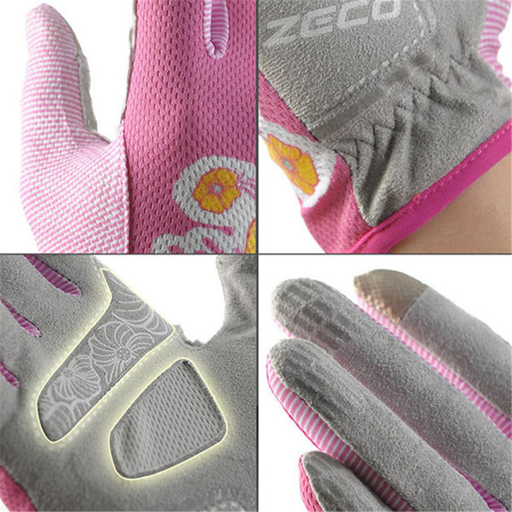 Women Men Outdoor Sports Thin Half Finger Gloves Breathable Summer UV Touch Screen Gloves