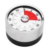 BALDR Mini Countdown Timer Spin Kitchen Timer Magnetic 60 Min Cooking Study Timer Reminder