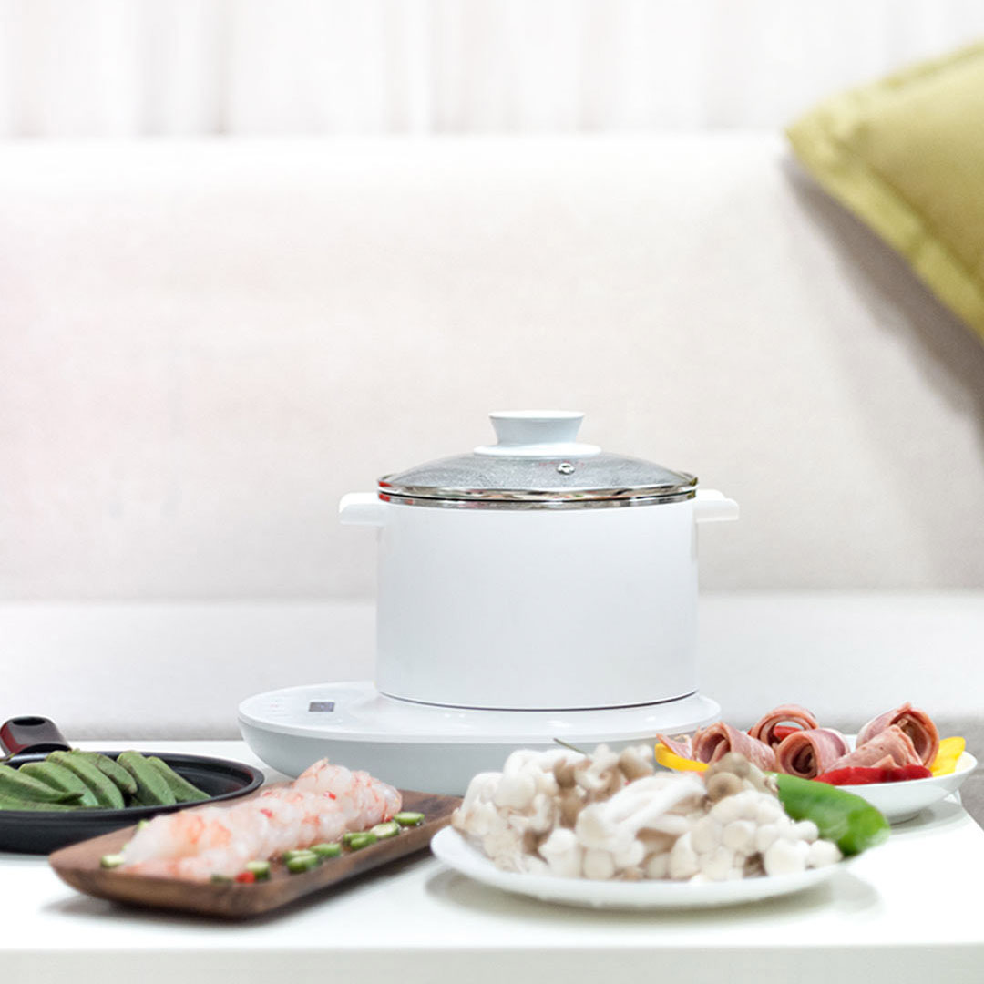 Xiaomi Mijia Multifunction Electric Cooker Kettle Hot Pot