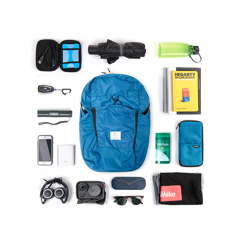 Naturehike NH17A017-B 25L Folding Backpack Ultralight 2000+ Waterproof Outdoor Sports Travel Bag