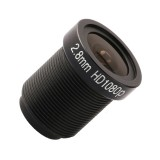 2MP 2.8mm HD 1080P CCTV Lens Surveillance Camera Lens M12 Interfaces F2 Fixed Aperture