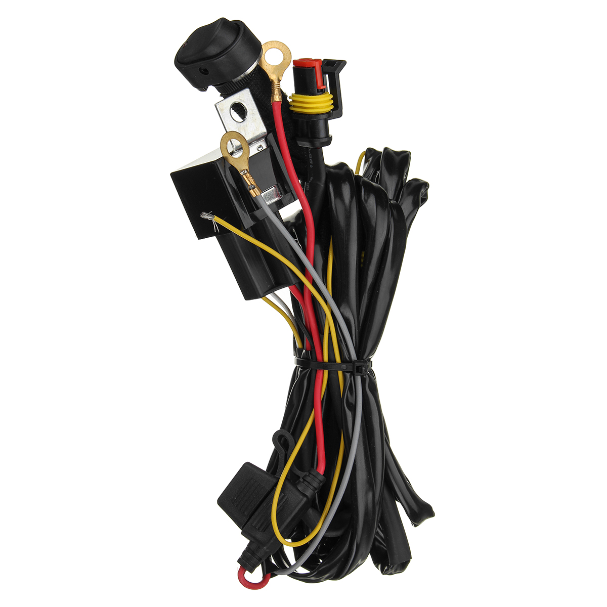 12v 40a Led Fog Lights Wiring Harness Switch On Off For Bmw R1200gs Light 1 X