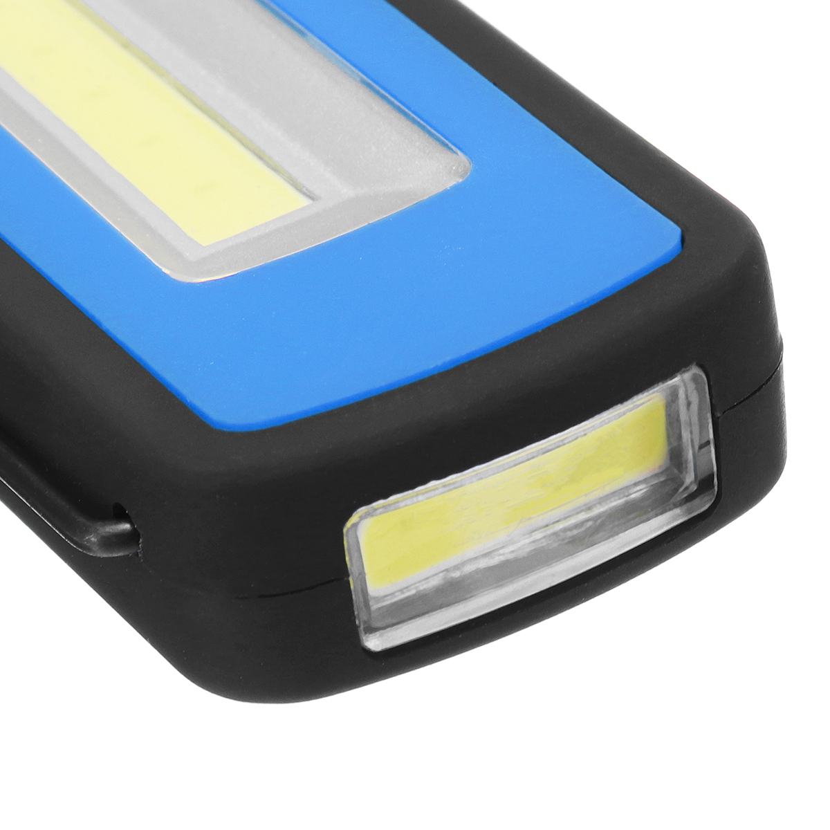 Single Magnetic Rechargeable COB LED Camping Light Work Inspection Lamp Hand Torch