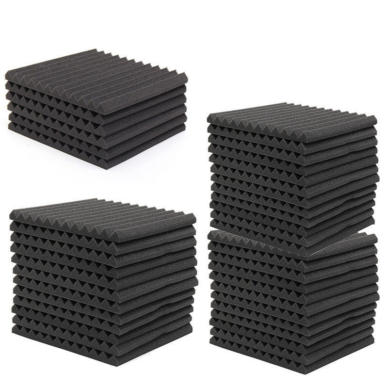 6Pcs 12Pcs 24Pcs Acoustic Soundproof Sound Stop Absorption for KTV Audio Room