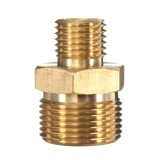 M22 Male to 1/4″ Male Adapter Brass Pressure Washer Hose Quick Connect Coupling Fitting for Karcher