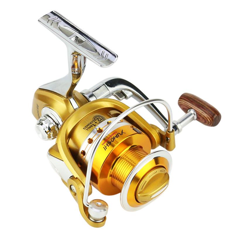 ZANLURE BE2000-5000 5.5:1 12+1BB Gapless Full Metal Spinning Reel Left/Right Hand Sea Fishing Reel