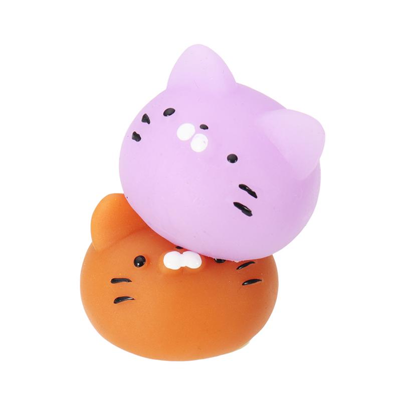 Mochi Maneki-neko Fortune Cat Kitten Squishy Squeeze Cute Healing Toy Kawaii Collection Stress Reliever