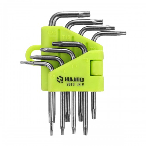 8 in 1 Star Wrench 8 Pcs Screwdriver T5 T6 T7 T8 T9 T10 T15 T20 Hand Tool Suit