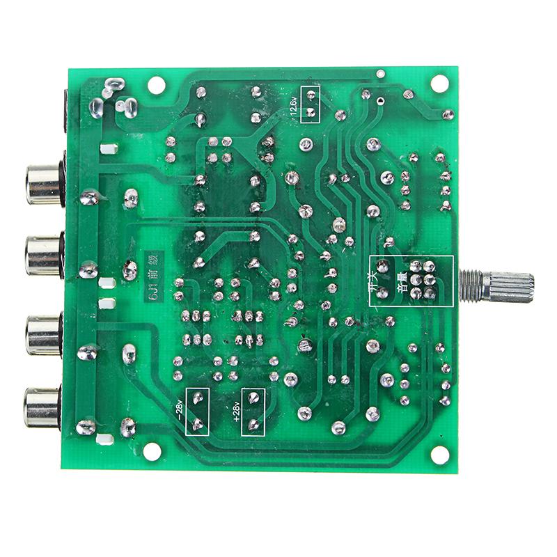 Aassembled AC 12V 1A 6J1 Preamp Tube Preamp Amplifier Board PreAmplifier Module