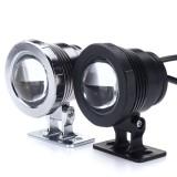 10W RGB LED Light Fountain Pool Pond Spotlight Waterproof Remote Underwater Lamp