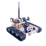 Xiao R DIY GFS WiFi Wireless Video Control Smart Robot Tank Car Kit for Arduino UNO