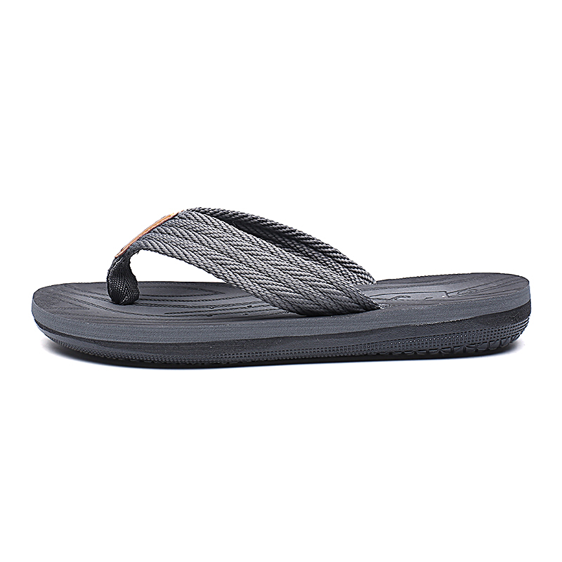 Flip-Flops Summer Use Double layer Tire Rubber  To Thicken Soles Men Beach Simple Style Shoe Sandals
