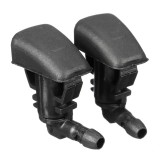 2Pcs Front Windshield Wiper Washer Sprayer Nozzles For Acura 2007-2009 Malibu 2008-2012