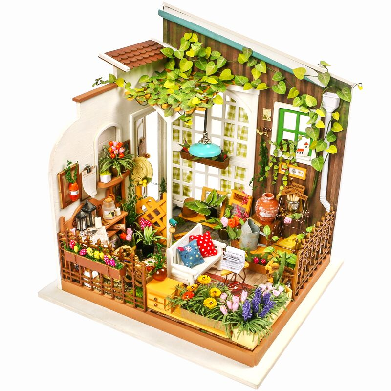 Robotime DG108 DIY Doll House Miniature With Furniture ...