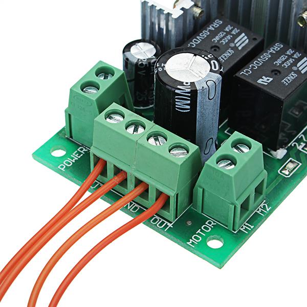 DC 5-30V 10A 300W PWM DC Motor Speed Regulator Speed Controller Support PLC  0-5V