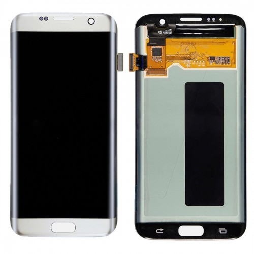 Original LCD Display + Touch Panel for Galaxy S7 Edge / G9350 / G935F / G935A / G935V (Silver)