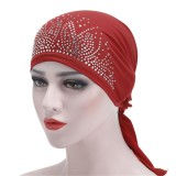 Under Hat Bonnet Ninja Inner Women Muslim Islamic Wrap Neck Full Cover Turban cap