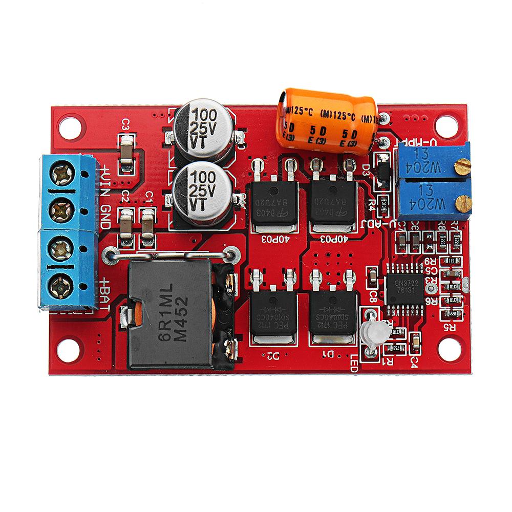 Mppt 5a Solar Panel Regulator Controller Battery Charging 9v 12v 24v Automatic Switch Alexnld Com