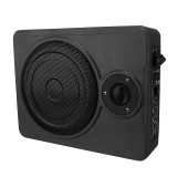 8 Inch 600W Audio Active Subwoofer Ultra-Thin Bass box Sub Amp Amplifier